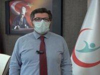 Kırşehir'de koronavirüs vaka sayılarında istikrarlı düşüş