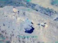 F-16'lar, Irak'ın kuzeyinde tespit edilen terör yuvalarını vurdu
