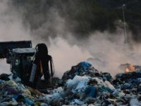 Datça'da çöplük alanda çıkan yangın kontrol altına alındı