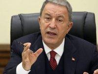 Bakan Akar'dan Fransa'ya Libya tepkisi
