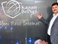 Türkiye'de ilk olan KazanBelNet internet ağı kuruldu