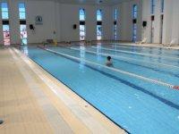 Pursaklar'da yüzme havuzu yeniden açıldı