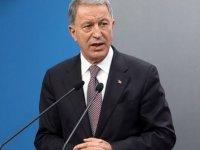 Milli Savunma Bakanı Akar: Biz Türkiye olarak Kırım'ın ilhakını tanımadık, tanımayacağız