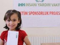 Suriye'deki yetimlere 'sponsorluk' ödemeleri yapıldı
