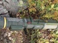 Pençe-Kaplan Operasyonu'nda PKK'ya ait çok sayıda mühimmat ele geçirildi