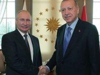 Cumhurbaşkanı Erdoğan ve Rusya Devlet Başkanı Putin görüştü