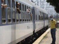 Yılın ilk 'arabalı treni' Kapıkule'den giriş yaptı