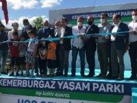 Kemerburgaz'da yaşam parkı açıldı