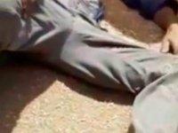 Ayağını helezyon makinesine kaptıran çiftçi, yaralandı