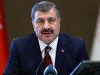 Sağlık Bakanı Fahrettin Koca koronavirüste son durumu paylaştı