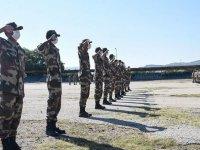 Libyalı askeri öğrencilerin Isparta'daki eğitimleri sürüyor