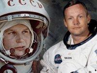 Uzaya giden ilk insan ve aya giden ilk insan?
