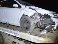 Elazığ'da 3 araç çarpıştı: 4 yaralı