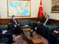 Bakan Akar,  ABD Ankara Büyükelçisi Satterfiel'di kabul etti