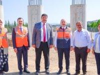 Kahramankazan-Ankara yolunda çalışmalar tam gaz