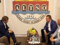 Başkan Böcek ve Davutoğlu, Alanya'da bir araya geldi