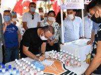 AK Parti'li Turan, Çanakkale'de 'üyelik' kampanyası başlattı