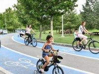 Kiralık bisiklet hizmetine yoğun ilgi
