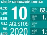 Türkiye'de Kovid-19'dan 224 bin 970 kişi iyileşti