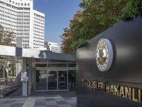 Dışişleri Bakanlığından Ermenistan makamlarının Sevr açıklamalarına tepki