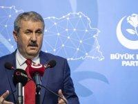 BBP Genel Başkanı Destici: Türkiye, Libya'da olduğu gibi Mavi Vatan'da da bir adım dahi geri atmamalıdır