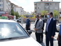 Kaymakam Yıldız ve Başkan Çetin vatandaşları uyardı