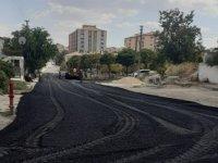 Yollara 550 ton asfalt