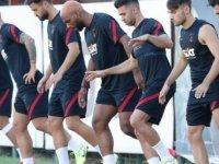 Galatasaray'da yeni sezon çalışmaları devam ediyor