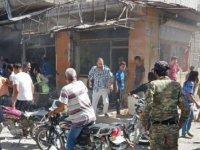 Cerablus'ta bombalı terör saldırısı: 1 ölü, 7 yaralı