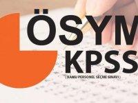 KPSS branş sıralamaları güncellendi