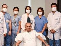 Kovid-19 nedeniyle 130 gün yoğun bakımda kalan hasta taburcu oldu