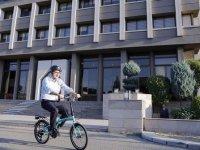 Bakan Dönmez Avrupa Hareketlilik Haftası kapsamında pedal çevirdi