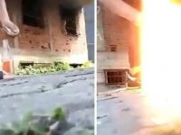 Ordu'da cam şişeye konan torpil patladı: 3 çocuk yaralı
