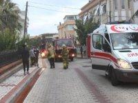 Florya'da patlayan çamaşır makinesi yangın çıkardı, 2 kişi dumandan etkilendi