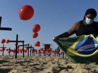 Brezilya'da Koronavirüs vaka sayısı 4.5 milyonu aştı
