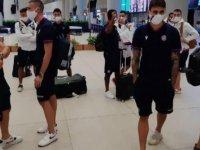 Galatasaray'ın rakibi Hajduk Split, İstanbul'a geldi