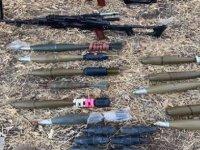MSB: Irak'ın kuzeyinde PKK'ya ait silah ve mühimmat ele geçirildi