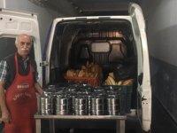 350 aileye sıcak yemek