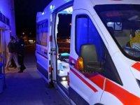 Tatvan'da, şarampole devrilen kamyonetin sürücü öldü