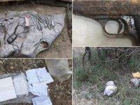Tunceli'de teröristlere ait 12 sığınak imha edildi