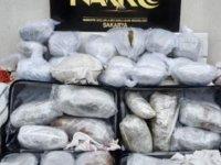 Sakarya'da 52,5 kilo 'esrar' ele geçirildi: 5 tutuklama