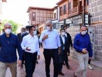 Bakan Ersoy ile birlikte Ankara turu