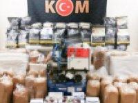 Eskişehir'de 474 kilo kaçak tütün ele geçirildi