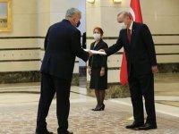 Almanya'nın Ankara Büyükelçisi Schulz, Cumhurbaşkanı Erdoğan'a güven mektubu sundu