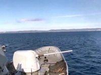 MSB: Saros Körfezi'nde atışlı fiili silah eğitimi yapıldı