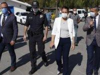 Ankara'da park ve bahçelerde koronavirüs denetimi