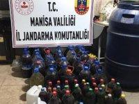 Manisa'da 4 bin 200 litre kaçak içki ele geçirildi