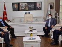 Başkan Acar'a ziyaret