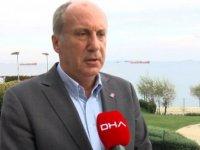 Muharrem İnce: (CHP)Haftadan haftaya, her gün yeni bir skandal duyuyoruz