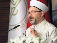 Ali Erbaş: İzmir'de evlerine giremeyen vatandaşlar camilerde kalabilir